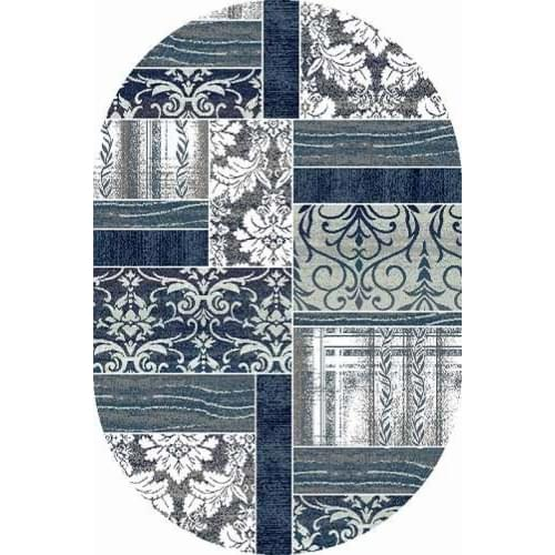 Ковер «Silver» D220-GRAY-BLUE