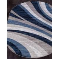 Ковер «Silver» D234- GRAY-BLUE