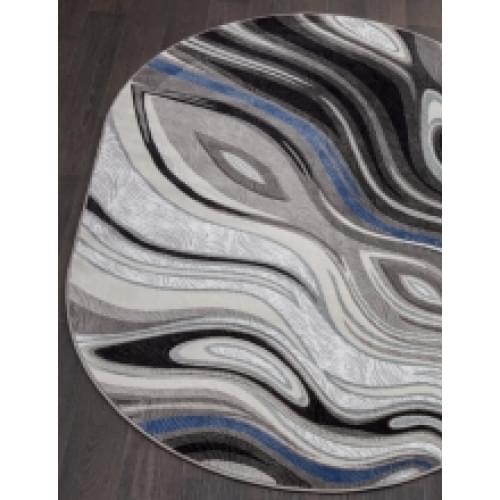 Ковер «Mega carving» 1 385-gray-stan