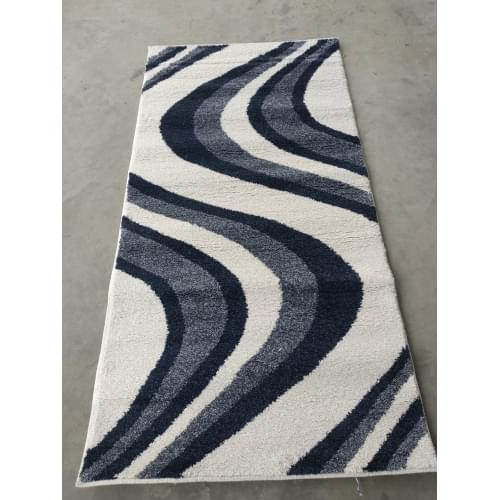 Ковер «Platinum shaggy» t617-blue-natural