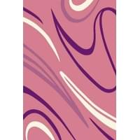 Ковер «Sunrise» v804-pink