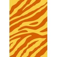 Ковер «Sunrise» d130-yellow-orange