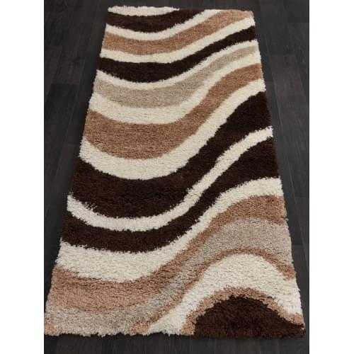 Ковер «Shaggy ultra» s607-beige-brown