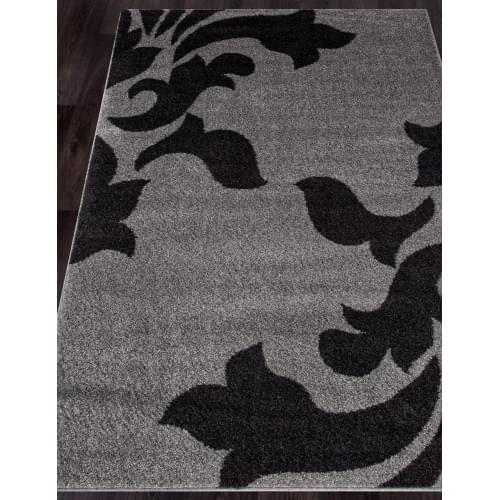 Ковер «Platinum shaggy» t620-gray-black