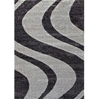 Ковер «Platinum shaggy» t617-gray-black
