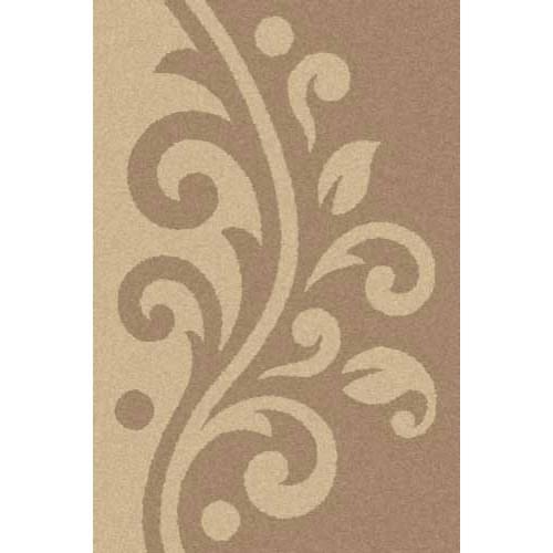 Ковер «Platinum shaggy» t621-dark-beige