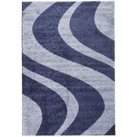 Ковер «Platinum shaggy» t617-navy-blue