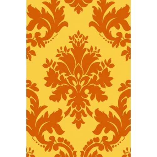 Ковер «Sunrise» v834-yellow-orange